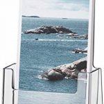 Helit H2351002 Porte-brochures de table pour brochures au format 1-3 DIN A4, haut, transparent de la marque Helit image 2 produit
