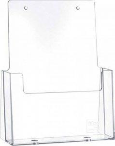 Helit H2352102 Porte-brochures de table pour brochures au format DIN A5, haut, transparent de la marque Helit image 0 produit