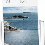 Helit H2352102 Porte-brochures de table pour brochures au format DIN A5, haut, transparent de la marque Helit image 1 produit