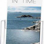 Helit H2352102 Porte-brochures de table pour brochures au format DIN A5, haut, transparent de la marque Helit image 2 produit