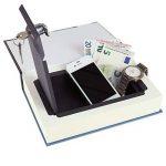 HMF 80925 Livre coffre-fort, Caisse à Monnaie camouflée, Pages de Papier Originales, 23 x 15 x 4 cm de la marque HMF image 3 produit