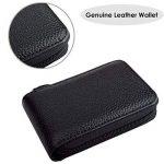HOUSON Houon Portefeuille en Cuir pour Cartes de crédit RFID Noir de la marque HOUSON image 3 produit