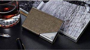Huihuger Mode pour nom de Crédit Carte de Visite Case- Bronze de la marque Huihuger image 0 produit