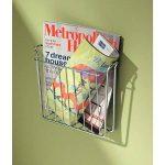 InterDesign Classico range revue, porte revue murale en métal, argenté de la marque InterDesign image 1 produit
