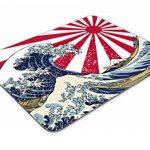 Japonais Grande Vague Tapis de Souris–Soleil Levant Drapeau Japon Cadeau Ordinateur # 4077 de la marque Destination Vinyl Ltd image 2 produit