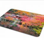Jardin japonais Tapis de souris–Japon Cherry Blossom Pagode Cadeau ordinateur # 8830 de la marque Destination Vinyl Ltd image 3 produit