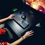 ⭐️Klim Chroma Clavier Gamers AZERTY FRANÇAIS Filaire USB - Haute Performance - Clavier Éclairé Chromatique Gaming Noir RGB PC Windows, Mac PS4 [ Nouvelle 2018 Version ] de la marque KLIM image 4 produit