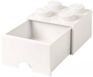 Lego Tiroir en brique 4 boutons, 1 tiroir, boîte de rangement empilable, 4.7 l de la marque Lego image 0 produit