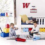 Lego Tiroir en brique 4 boutons, 1 tiroir, boîte de rangement empilable, 4.7 l de la marque Lego image 4 produit