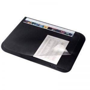 Leitz Plus Sous-Main avec Rabat Transparent, Noir, Dimensions : 65 x 50 cm, 53120095 de la marque Leitz image 0 produit