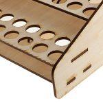 MagiDeal Support De Stockage Rangement En Bois Module Outil De Peinture Boîte de la marque MagiDeal image 2 produit