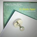 Magnerds® Crochets magnétiques avec revêtement en acier, capacité de 8kg, (Base Ø 29mm x hauteur 30mm), aimant intérieur au néodyme N52 - Aimants de type punaise, en nickel, avec coussinets protecteurs de surfaces de haute qualité inclus de la marque M image 4 produit