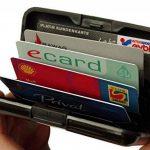 MaxBox – étui pour cartes de crédit en aluminium noir, étui de protection pour cartes de crédit RFID, étui en métal pour cartes de crédit, boite pour cartes EC de la marque MaxBox image 2 produit