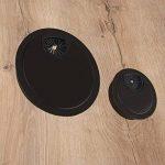 Meubles Passe-câble passage de câble Bureau style rond | acier noir mat | Câble pour répondre | Ø 60mm | Meubles ferrures de gedotec® de la marque GedoTec® image 2 produit