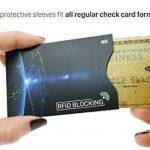 MyGadget 4x Porte Carte Protection Bloqueur RFID/NFC/Sans Contact - Slim Card Holder Protège Données Anti Espion Carte Bleue/de Crédit/Paiement de la marque MyGadget image 4 produit