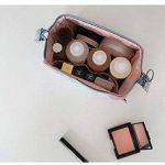 NOV@GO® Petite Trousse de toilette Compact pliable, trousse maquillage, pochette cosmétique fleurie style japonais de la marque NOV@GO® image 4 produit