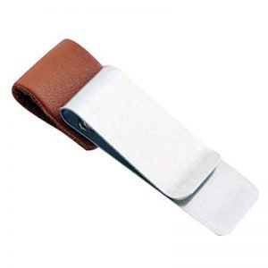 passant à stylo support pour journal l'Ordre croquis et ordinateurs portables Convient pour stylo avec diamètre moins 7/2/0.1 A: Silver + brown leather case. de la marque Chen0-super image 0 produit