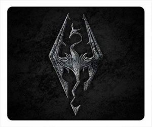 Personalization 0025694 the elder scrolls v skyrim custom mouse pad rectangle de la marque Mouse Pad image 0 produit