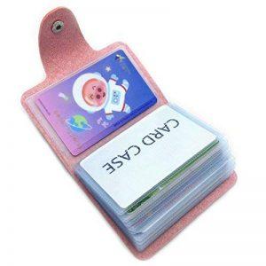Porte Carte de Credit pour les Femmes Homme - 24 Fentes de la marque caacoo image 0 produit