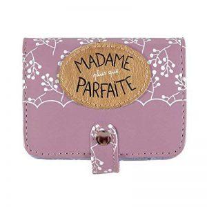 Porte-cartes Folk Madame plus que parfaite - Derrière la porte de la marque Derrière la porte image 0 produit