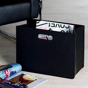Porte-journaux moderne Noir de la marque CASABLANCA image 0 produit