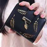 porte monnaie femme, TMEOG Porte-monnaie en cuir Bifold Wallet en cuir en cuir Porte-cartes en cuir Porte-monnaie en cuir de la marque TMEOG image 3 produit