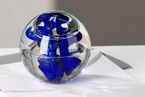 Presse-papier en verre en forme de boule de la marque CASABLANCA image 0 produit