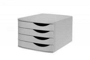 Re-Solution 2686374307 Class'box 4 grands tiroirs Gris de la marque Re-Solution image 0 produit