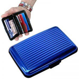RICISUNG Blocage de RFID de support de carte de crédit en aluminium de portefeuille de la marque INTERINNOV image 0 produit