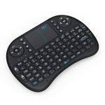 Rii Mini i8 Wireless (AZERTY) - Mini Clavier français, Ergonomique sans Fil avec Touchpad - Pour Smart TV, mini PC, HTPC, Console, Ordinateur de la marque Rii image 1 produit