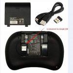 Rii Mini i8 Wireless (AZERTY) - Mini Clavier français, Ergonomique sans Fil avec Touchpad - Pour Smart TV, mini PC, HTPC, Console, Ordinateur de la marque Rii image 3 produit
