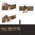 SONGMICS Portemanteau Mat Portant Métallique Rétro Etagères à Chaussures pour l'entrée Patères Amovibles et Mobiles 72 x 33,7 x 183 cm (L x l x h) Couleur Vintage HSR40B de la marque SONGMICS image 4 produit