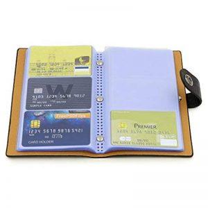 Sumnacon 300 Capacité Organisateur / Porte Carte de Visite, Porte-Carte Commercial étui Pour Business (Noir) de la marque Sumnacon image 0 produit