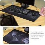 Tapis de souris extra large Cmhoo 80x40 Map de la marque Cmhoo image 4 produit