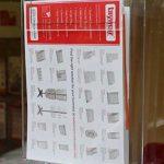 Taymar Distributeur de poche simple pour des brochures et dépliants Format A4 Lot de 1 claire de la marque Taymar image 3 produit