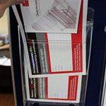 Taymar Porte-brochures Format A5 Lot de 1 claire de la marque Taymar image 3 produit