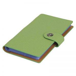 Tenn Well Classeur pour cartes de visite, 300pochettes, Fermeture magnétique Orange de la marque Tenn Well image 0 produit
