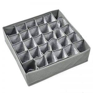 TRIXES Boîte de Rangement pour Chaussettes Cravates Sous-Vêtements Tiroir - Armoire Espace de Rangement de la marque TRIXES image 0 produit