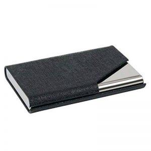 TRIXES Porte-cartes de Visite Professionnel Noir avec Élégante Finition Simili Cuir de la marque TRIXES image 0 produit