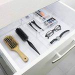 Ulinek Organiseur Lot de 5tiroirs Set, organiseur cosmétique, kommoden Organiseur de rangement, Garantie à Vie, transparent de la marque Ulinek image 4 produit