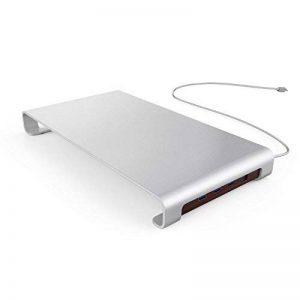 Urbo Support de Moniteur avec Hub USB de Type C pour la Connectivité Multi-périphérique + Stockage de Clavier pour des Espaces de Travail Efficaces de la marque Urbo image 0 produit