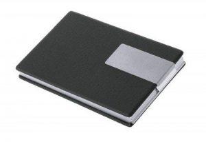 """Wedo 2056601 """"Good Deal"""" Étui pour cartes de visite Pour cartes 9,5 x 6 cm Noir/argent de la marque Wedo image 0 produit"""