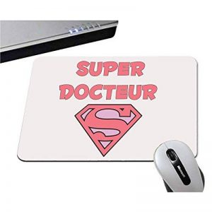 Yonacrea - Tapis de Souris - Super Docteur - Femme - Blanc de la marque yonacrea image 0 produit